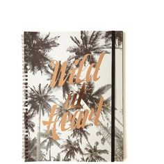 a4 spinout notebook 120 pages ($6.99) ❤ liked on Polyvore featuring home, home decor and stationery