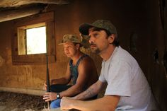 Tim Smith and Steve Tickle in Moonshiners