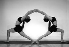Perfect partner yoga shot, especially for studio work with a yoga mat. Just amazing!