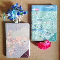 E se você já está pensando na viagem do feriado que tá chegando... Olha essas capas pra passaporte que fofura! 🛫 - Loja finé - www.lojafine.com