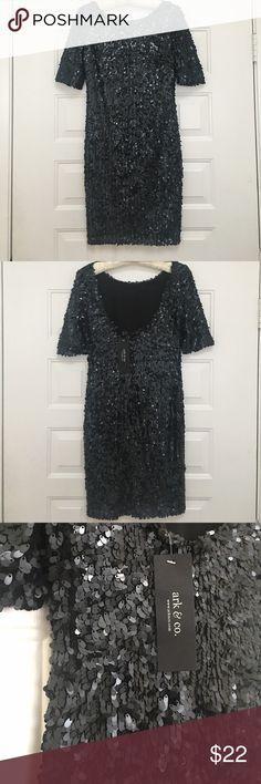 NWT dress ark & co. sequence black evening dress NWT Dresses