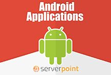 Dedicated server hosting, cloud virtual servers and web hosting services by ServerPoint. Android Applications, Android Apps