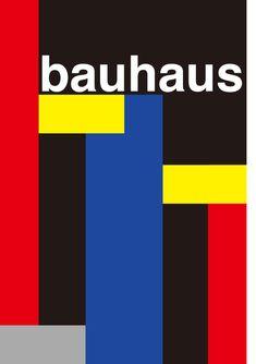 Bauhaus. SImple, minimalistic. German design school, combine and explore art and…