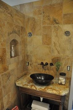 tuscan architecture | Tuscan Style Bathrooms Design Ideas, Pictures, Remodel, and Decor