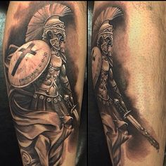Spartan tattoo Mais
