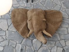 Ace Hotel, via Flickr.   WOW, woven elephant!!! I love this!