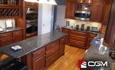 Blue Pearl   Classic Granite Kitchen Countertops, Richmond VA