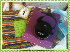 listen to reading bag (a good idea for a small tub, too) w/clipboard, cd player, and a couple of books Literacy Work Stations, Learning Stations, Literacy Activities, Teaching Resources, Teaching Ideas, Daily 5 Kindergarten, Differentiated Kindergarten, Differentiated Instruction, Kindergarten Freebies
