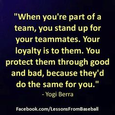 Oh how I love my team!