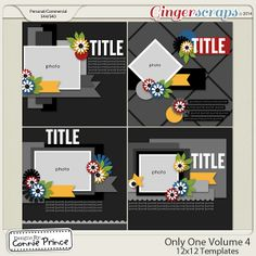 Only One Volume  4 - 12x12 Temps (CU Ok)