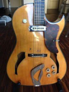 Gitarre Hopf Special, extrem selten, Ende 50er Jahre in Köln - Marienburg | Musikinstrumente und Zubehör gebraucht kaufen | eBay Kleinanzeigen