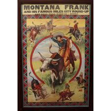 Montana Frank Wild West Show. . .