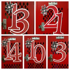 17 Best images about Locker Room Football Locker Signs, Soccer Locker, Football Cheer, Football And Basketball, Baseball, Football Decor, Basketball Gifts, School Football, Football Season