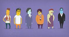 Esta es una serie de cortos animados de la Open University una institución a distancia del Reino Unido. De acuerdo con la estructura no tradicional, los estudiantes suelen estudiar a distancia, tanto si están en el Rein