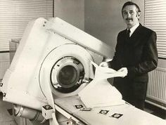 Computed Tomography not developed until Godfrey N. Hounsfield and Allan M. Cormack came along in 1972.