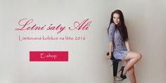 Letní šaty Ali - česká výroba letních šatů