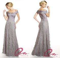 Find More Mother of the Bride Dresses Information about Silver Elegant Sheath Off The Shoulder Lace Long Formal Mother Of The Bride Dress Evening Gowns AC50,High Quality dress up pageant girls,China dress pyjama Suppliers, Cheap dress teenager from OBM Bridal Studio on Aliexpress.com