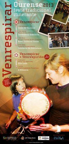 VenRespirar (Festa tradicional itinerante) @ Praza de San Marcial - Ourense folk baile