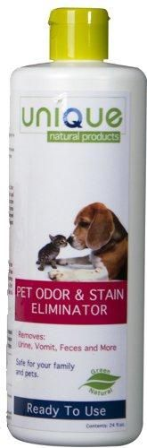 Unique Pet Odor and Stain Eliminator Ready to Use Ready to Use Spray Bottle. Refill this bottle with our 10 to 1 Concentrate.. Eliminates stains and odors from carpets and hard surface areas.. Eliminates Blood, Grease, and All Organic Stains.. Enviromentally safe. All Natural. Uses Bacterial and Enzyme Action. Nature's Way Is The Best Way.  #UNIQUE_Pet_Odor_and_Stain_Eliminator #Pet_Products