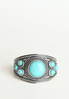 Zilin Turquoise Bracelet - $25.00 : ThreadSence.com, Your Spot For Indie