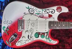 "Jimi Hendrix  Monterey Pop Strat ""Replica"""
