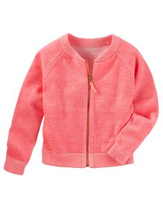 Kid Girl Raglan Sweater Cardi from OshKosh B'gosh. Shop clothing & accessories from a trusted name in kids, toddlers, and baby clothes.