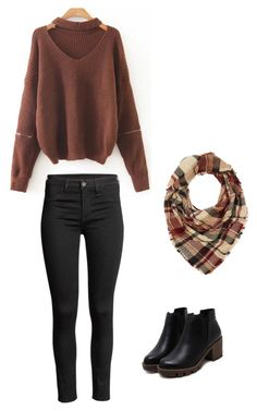 """""""Fall / winter outfit"""" by madisenharris on Polyvore featuring Charlotte Russe"""