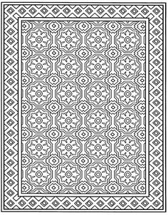coloring page Tiles - Tiles