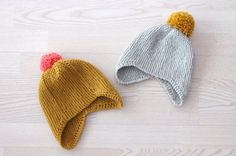 Trying to find a pattern for this hat shape. Baby Hats Knitting, Knitting For Kids, Knitting Yarn, Knitting Projects, Crochet Projects, Knitted Hats, Knitting Patterns, Hat Patterns, Beanies