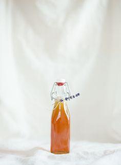 Honey Lavender Syrup for Cocktails.