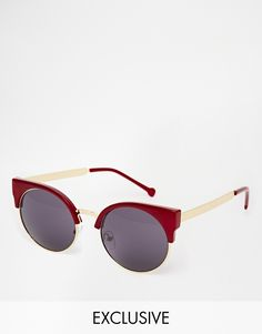 Cute 70's touch on these sunnies : http://asos.do/G9MBlg