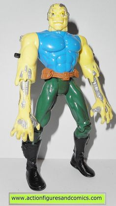 Toy Biz action figures for sale to buy: X-MEN / X-FORCE series 1994 SLAYBACK 100% COMPLETE Condition: Excellent. nice paint, nice joints. nothing broken, damaged, or missing Figure size: approx. 5 inc