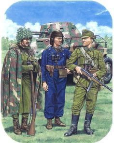 Hungarian Army in Transylvania, 1944 - pin by Paolo Marzioli Ww2 Uniforms, German Uniforms, Military Uniforms, Military Art, Military History, Military Drawings, Army Uniform, World History, World War Two