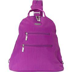 baggallini RFID Inspire Backpack - Exclusive - Magenta - Backpack... (€68) ❤ liked on Polyvore featuring bags, backpacks, purple, block backpack, shoulder strap backpack, colorblock backpack, rucksack bags and colorblock bags