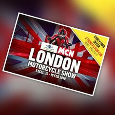 Book Tickets for the MCN London Motorcycle Show 16-18/02/18 at the Excel available at See Tickets tidd.ly/beee018c