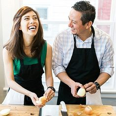 You've got to stop by to see the most adorable and unique engagement session ever - that took place during a private cooking class! So adorable!