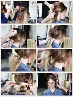 Awe Inspiring Simple Hairstyles Brown Hair Extensions And Brown Hair On Pinterest Short Hairstyles Gunalazisus