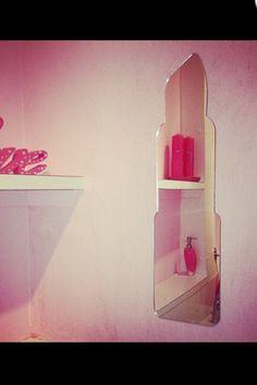 Lipstick Shaped Mirror
