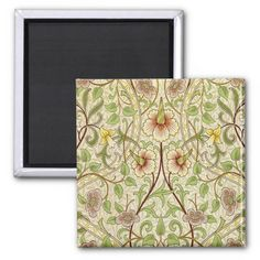 Trendy Vintage Decorator Floral Wallpaper Daffodil