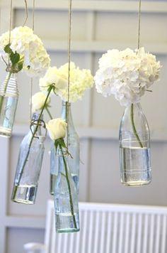 bottle blossoms. bathroom?