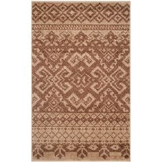 Adirondack Camel/Chocolate (Camel/Brown) 2 ft. 6 in. x 4 ft. Area Rug