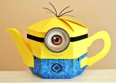 Esselle Crafts: Minion Teapot Box