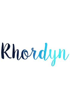 Baby boy name - rhordyn имена, письмо, bebe. Pretty Names, Cute Baby Names, Unique Baby Names, Baby Girl Names, Kid Names, Fantasy Names, Baby Name List, Book Names, Names With Meaning