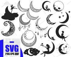 67 trendy tattoo back phrase the moon Tribal Tattoos, Tattoos Skull, Celtic Tattoos, Star Tattoos, Trendy Tattoos, Body Art Tattoos, Sleeve Tattoos, Cresent Moon Tattoo, Half Moon Tattoo