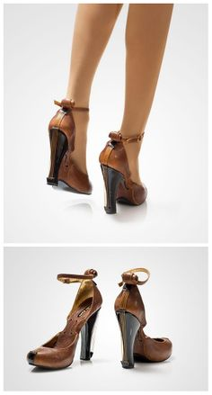 I would never pay $1,600 for a pair of shoes. But these make me feel like saving. Violin shoes by Kobi Levi