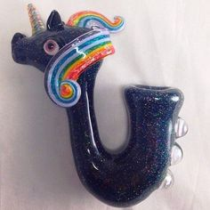 Unicorn Pipe For Sale Smoking Pieces, Pipes For Sale, Glass Pipes And Bongs, Cool Pipes, Weed Pipes, Puff And Pass, Mary Janes, Glass Art, Fancy