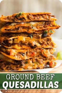 Lunch Recipes, Easy Dinner Recipes, Mexican Food Recipes, Easy Meals, Cooking Recipes, Healthy Recipes, Easy To Make Recipes, Geound Beef Recipes, Chicken Recipes