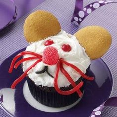 How to make Mice Cupcakes Recipe
