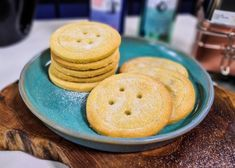 Woolworths Shortbread buttons Shortbread, Buttons