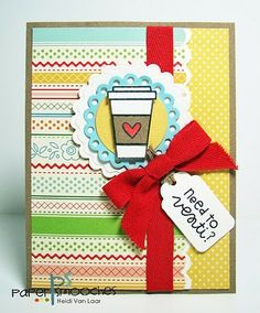 Need to Venti card by Heidi Van Laar for Paper Smooches